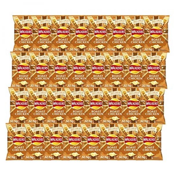 Walkers Crisps Roast Chicken x 32 1040g