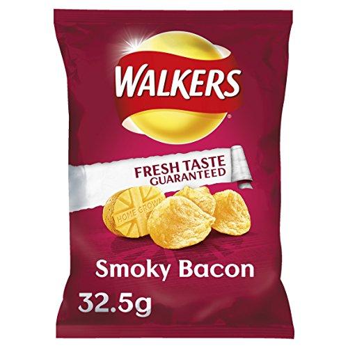 Walkers Crisps - Smoky Bacon 32.5g