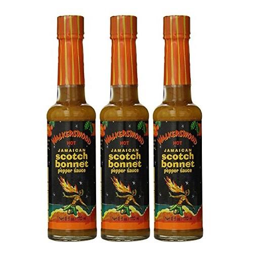 Walkerswood Scotch Bonnet Hot Sauce, 5-Ounce Bottles Pack of 3