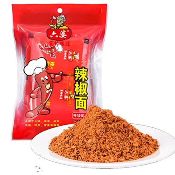 Chinese Sichuan Specialty, LiuPo Chili Powder 100g Bag Packaging...