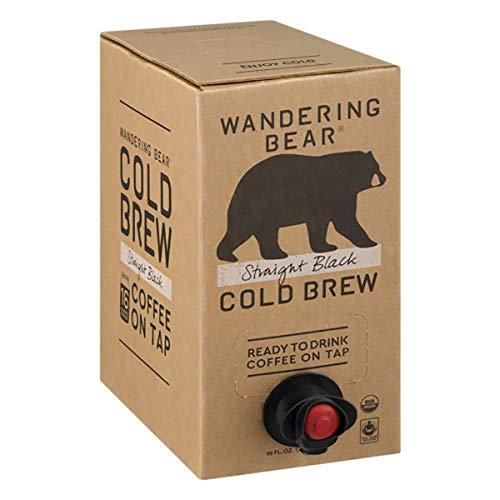 Wandering Bear Organic Cold Brew Coffee On Tap, Straight Black, ...