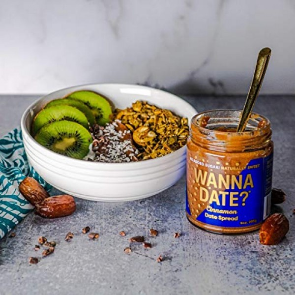 Wanna Date? Cinnamon Date Spread, Vegan, Paleo Friendly, Gluten-...