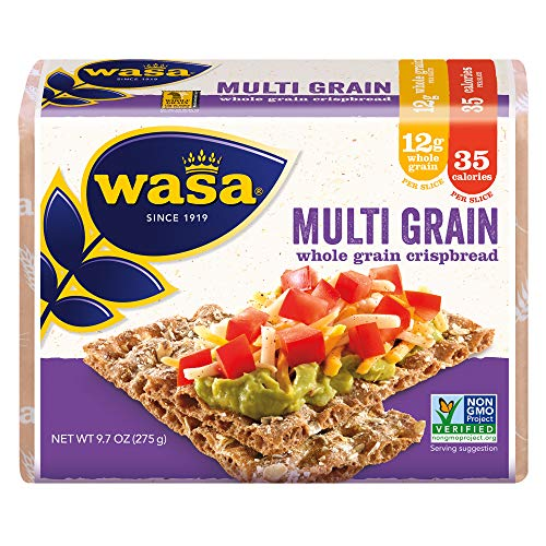 Wasa Multi Grain Crispbread, 9.7 Ounce Pack of 12