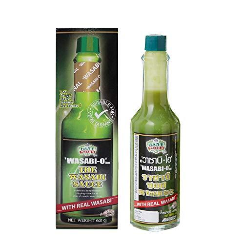 Wasabi-Os Oiginal Wasabi Sauce 62 g - 1 bottle uses Real Wasabi...