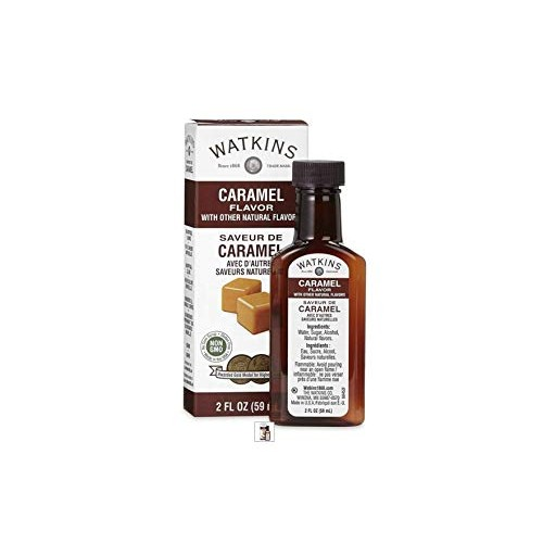 Watkins Caramel Flavor with Natural Flavors, 2 Fl Oz Pack of 2