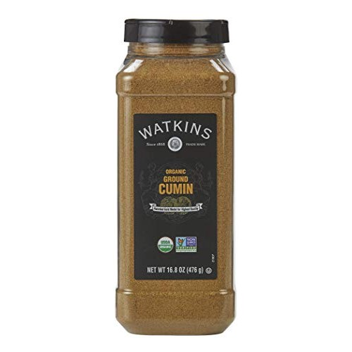 Watkins Gourmet Spice, Organic Ground Cumin, 16.8 oz. Bottle, 1 ...