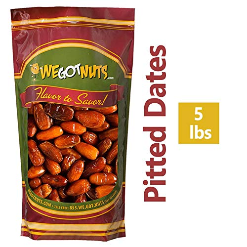 5 Pounds Of Dates Pitted 5lb
