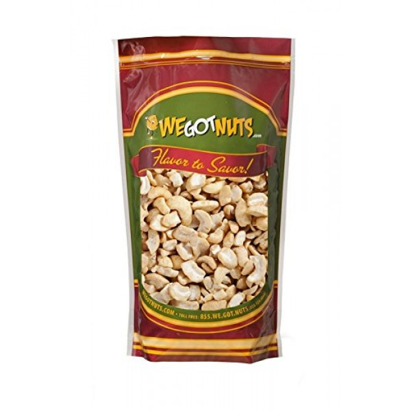 Raw Cashew Pieces By We Got Nuts: Unsalted &Unroasted\ Cashew Ha...