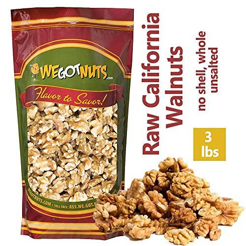 Three Pounds Of California Walnuts, 100% Natural, NO PPO, No Pre...