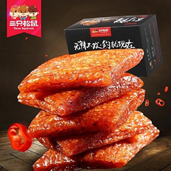 Three squirrel [200g] about _ spicy spicy snacks leisure spicy v...