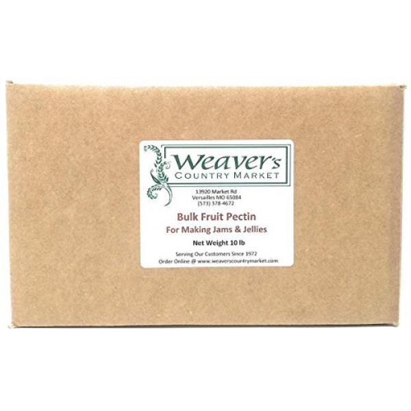 Weavers Country Market Bulk Fruit Pectin Mix for Making Jams & ...