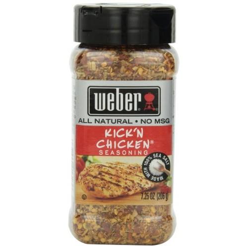 Weber Seasoning, Kick N Chicken, 7.25 oz