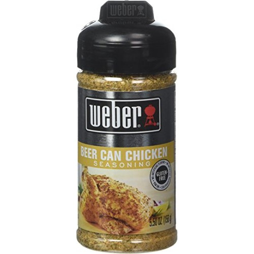 Weber Grill Beer Can Chicken, 5.5 Ounce Pack of 4