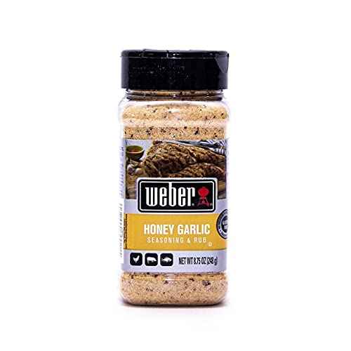 Weber Honey Garlic Seasoning & Rub 8.75 Ounce
