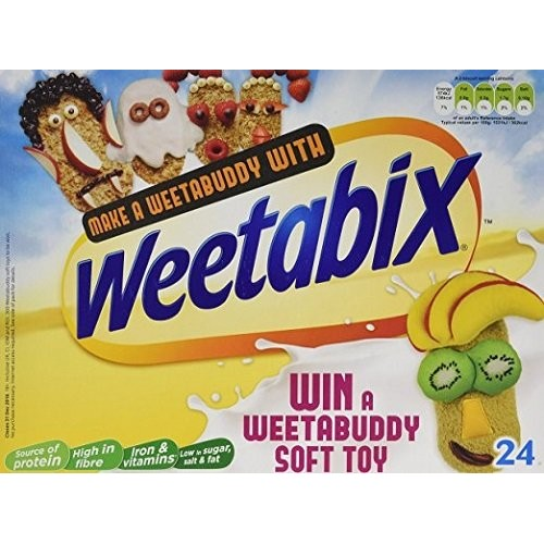Weetabix Cereal 24 biscuits