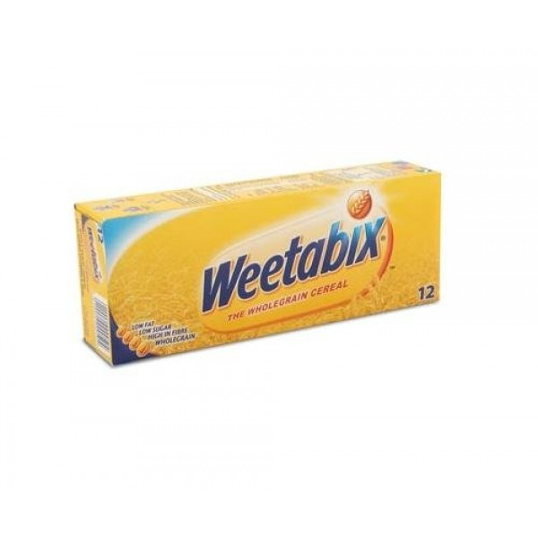 Weetabix Whole Grain Cereal England, 7.6-Ounce Boxes Pack of 4