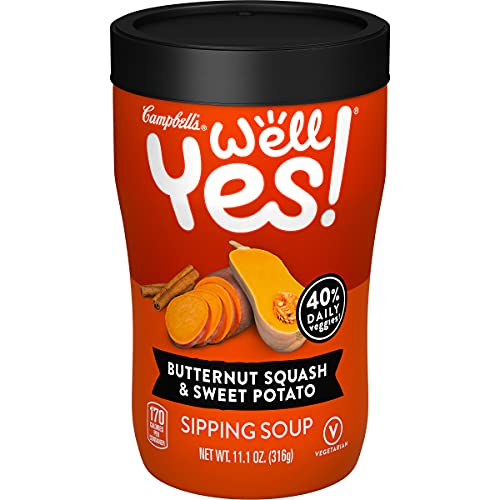 Campbells Well Yes! Sipping Soup, Vegetable Soup On The Go, But...