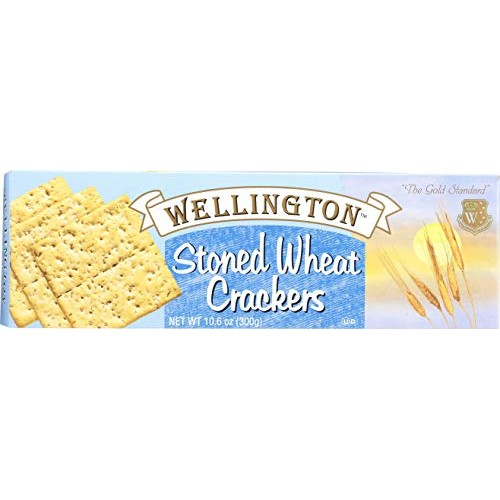 Wellington Stoned Wheat Crackers, 10.6-Ounces Pack of 12