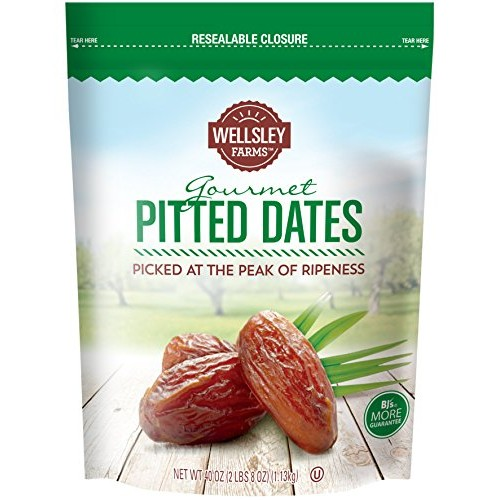 Wellsley Farms Dried Pitted Date, 40 Ounce
