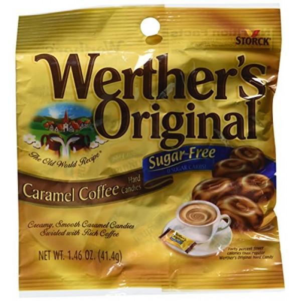 Werthers Original - Sugar Free - Caramel Coffee Hard Candies P...