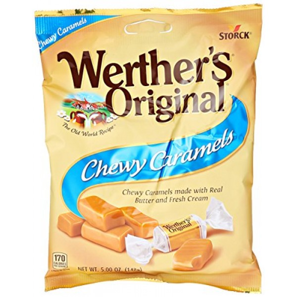 Werthers Original Chewy Caramels, 5 oz
