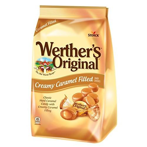 WERTHERS ORIGINAL Creamy Caramel Filled Hard Candies, 30 Ounce ...