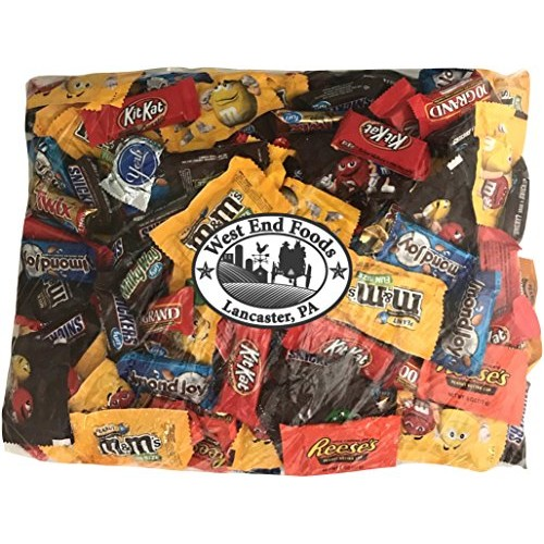 Chocolate Candy 90 oz Bulk Variety Pack Reeses Peanut Butter ...