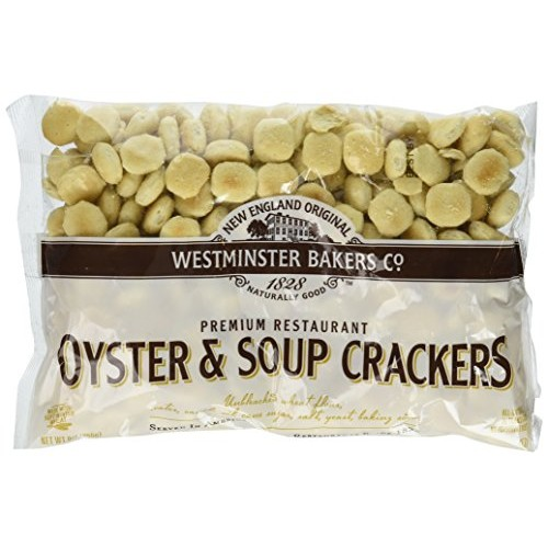 New England Original Westminster Bakeries Oyster & Soup Crackers...