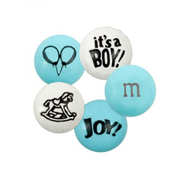 Blue M&Ms Its a Boy Candy 2lb Free Cold Packaging - Boy Baby...
