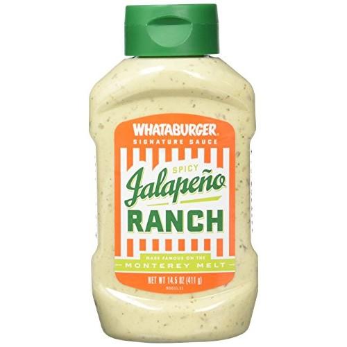 Whataburger Signature Condiments & Sauces (Spicy Jalapeno Ranch)
