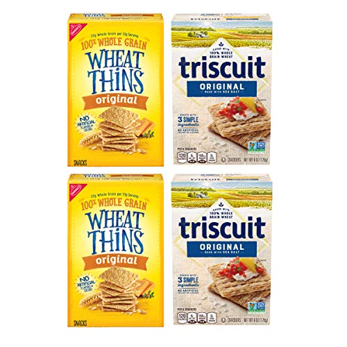 Wheat Thins Original and Triscuit Original Crackers Variety Pack...
