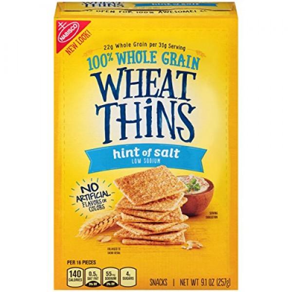 Nabisco, Wheat Thins, 9oz Box Pack of 4 Choose Flavors Below...