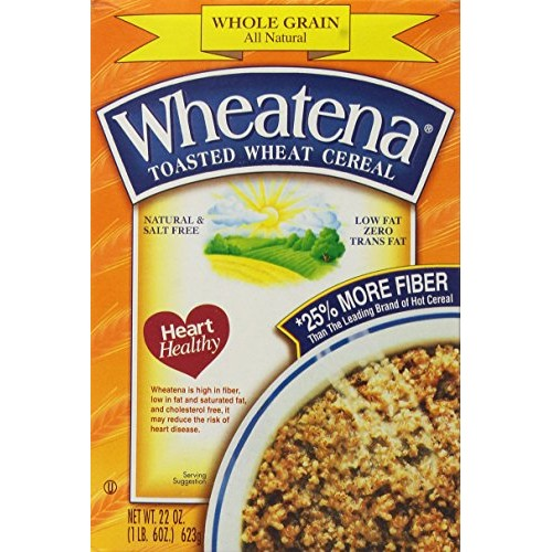 Wheatena Toasted Wheat Cereal, 20-Ounce Boxes Pack of 4