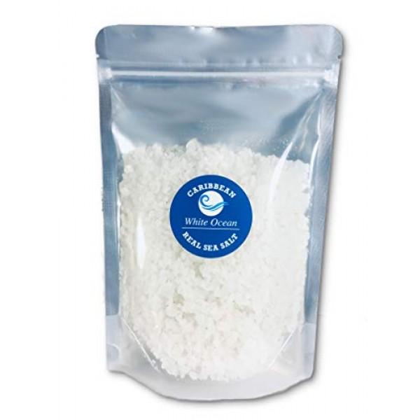 White Ocean Sea Salt Coarse For Grinder Refill - Gourmet Unrefin...