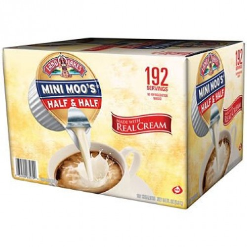 Mini Moos Half and Half, 192/Carton, Sold as 1 Carton, 192 Each...