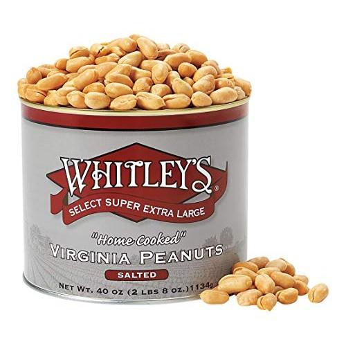 Whitleys Salted Virginia Peanuts 40 Oz.