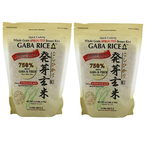 GABA - Sprouted Brown Rice 2.0kg 4.4 LB bag
