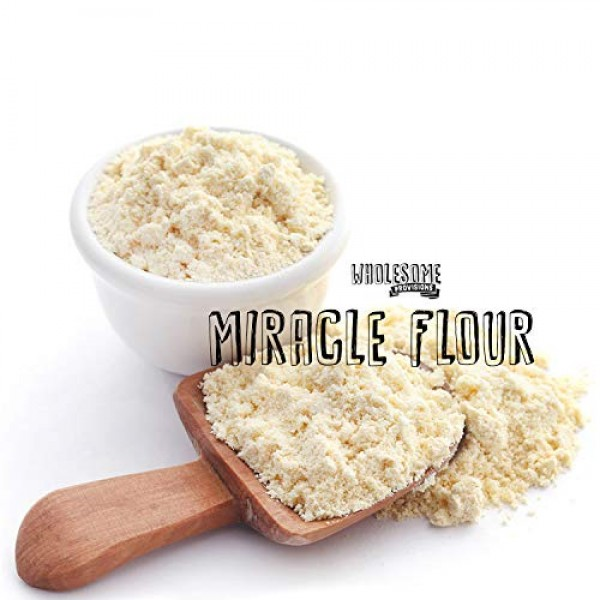 100% Sweet Lupin Flour, Non-GMO, Made in USA, All Purpose, Glute...