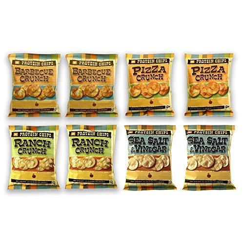 Protein Chips, 10g Protein, 5g Fiber, Assortment 8 Pack, Ranch, ...