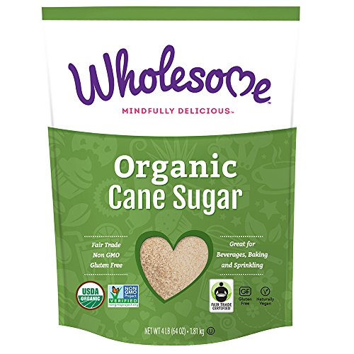 Wholesome Sweeteners Organic Sugar, 64 oz.