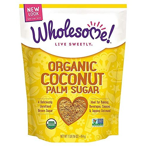 Wholesome Sweeteners Sugar Coconut Palm