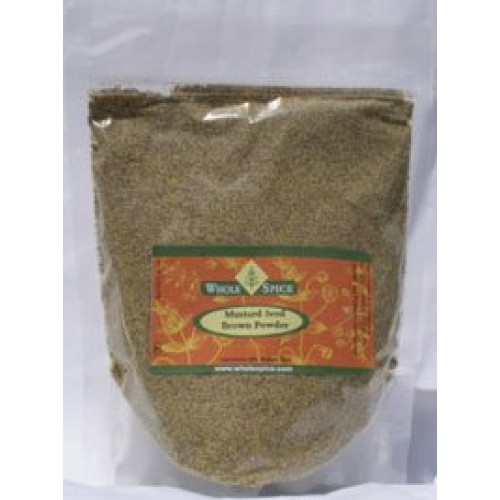 Mustard Seed Brown Powder - 4 OZ