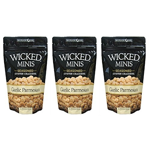 Wicked Mix Premium Seaoned Flavor Garlic Parmesan Soup and Oyste...