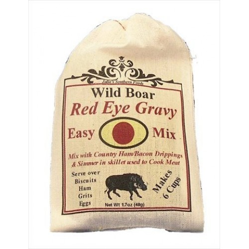 Wild Boar WB070 Wild Boar Red Eye Gravy Mix 4oz44; Pack of 5