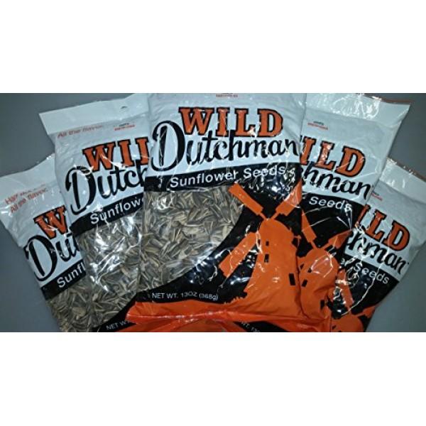 Wild Dutchman 13 Oz Sunflower Seeds Pack of 12