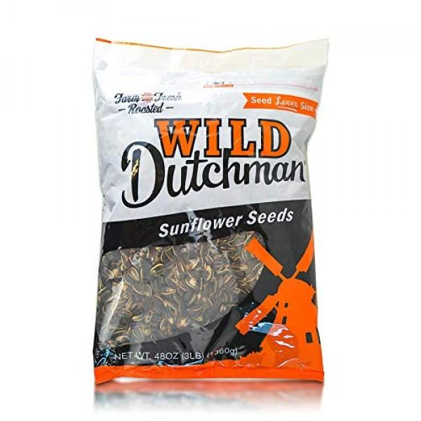 Wild Dutchman Sunflower Seed 3 Pound Unique Family Recipe Contai...