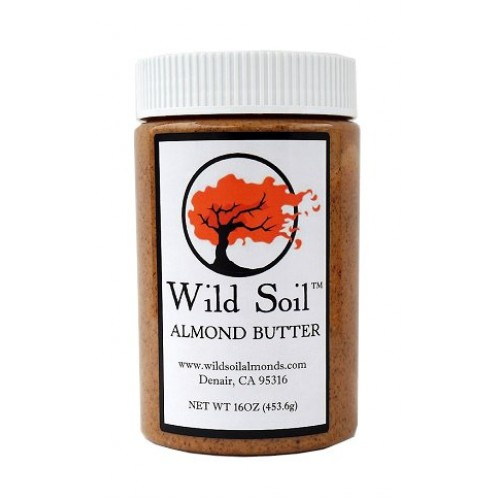 Wild Soil Almond Butter, Distinct and Superior to Organic, Probi...