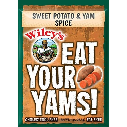 Wileys Sweet Potato & Yam Spice - 6 (SIX) Packets