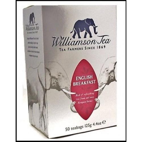 Williamson Tea English Breakfast Case of 4 X 50 Bags