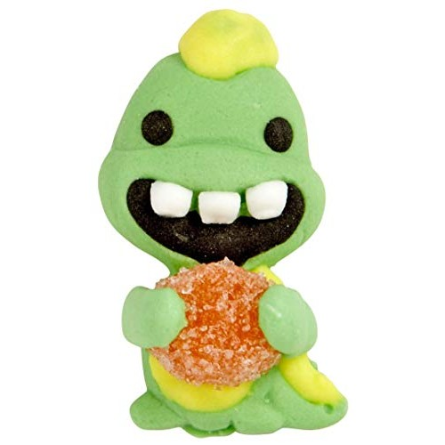 Wilton 710-0258 Dino with Gumdrop Icing Decorations, 12-Pack
